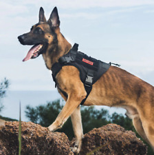 ONETIGRIS High Quality Dog Vest Harness with Handle and Molle Points