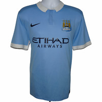 2015-2016 Manchester City Home Football Shirt, Nike, XL (Excellent Condition)