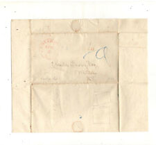 1840 STAMPLESS FOLDED LETTER, PROVIDENCE RI, REF: PAYMENT