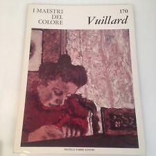 I maestri del colore Vuillard (n.170) Fabbri Editori 1966 prima edizione