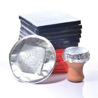 Shisha spezial Alufolie 50x - vorgestanzte Löcher - Wasserpfeife Hookah Zubehör