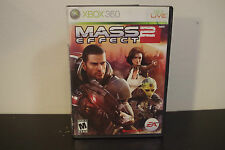 Mass Effect 2  (Xbox 360, 2010) *Tested
