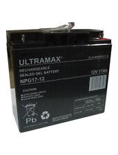 3 X ULTRA MAX 12V 17AH (Remplacer 18AH 20AH 21AH 22AH) Rechargeable Batterie Gel