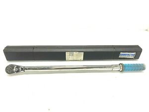 """Armstrong Torque Wrench 64-086 Micrometer 25-250 FT-LB  1/2"""" Drive with Case"""