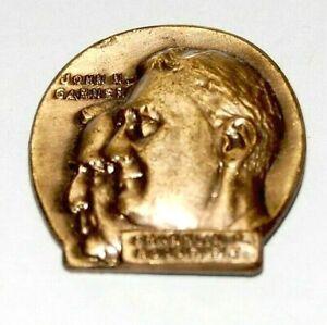 1936 Franklin Roosevelt John Garner FDR campaign pin pinback button political