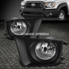 For 12-15 Toyota Tacoma Truck Clear Lens Oe Bumper Driving Fog Light Lamp