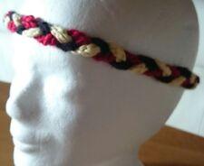 Stirnband DEUTSCHLAND **schwarz rot gold** 50/52 geflochten