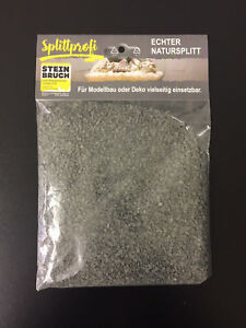 (€4,75/kg) 400g Ziersplitt schwarz  Modellbau  Deko Aquarium 1-3mm