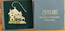 1996 Shelia's Historical Brass Ornament Collection The Dragon House #Or010 Boxed