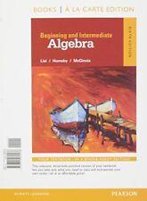Beginning and Intermediate Algebra a la Carte  (6th Edition)
