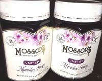 2 Pacific Resources International Mossops Manuka Honey UMF15+ 1.1 lb Exp.12/2022