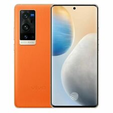 "vivo X60 Pro+5G 6.56"" DualSIM Orange 12/256GB 50MP Snapdragon 888 Phone By FedEx"
