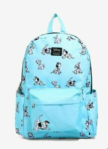 LOUNGEFLY Disney 101 Dalmatians Puppies Backpack NEW