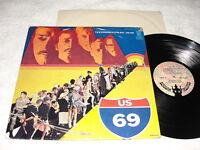 "US 69 ""Yesterdays Folks"" 1969 Psych/Funk LP, Nice EX!, Orig Buddah Press, RARE"