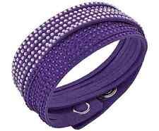 NWT SWAROVSKI 2-in-1 Purple Slake Wrap Bracelet Choker Gift Present