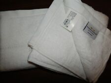 2 Threshold Hand Towel True White Solid 16x28 Lot Set Handtowels Bath Botanic