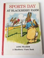 Vintage Sports Day At Blackberry farm Hardback Book 1974