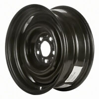 03023 Refinished Ford Passenger 1992-1997 15 inch Steel Wheel, Rim Painted Black