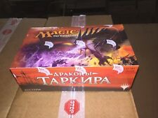 RUSSIAN Magic The Gathering Dragons Of Tarkir Sealed Booster Box For Card Game