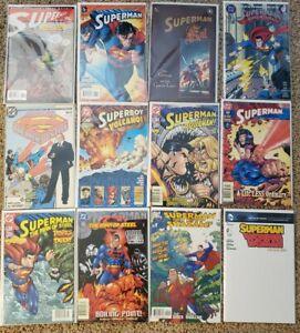 Superman Mixed Lot 30+ Comics:  Most VF/NM