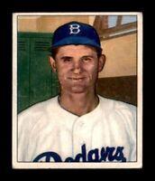 1950 Bowman #167 Preacher Roe VGEX X1249905