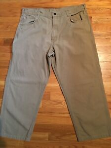 Mens Carhartt FR Fire Resistant Pants Loose Fit FRB159-GKH Size 40x30(28)