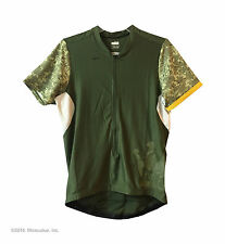 Authentic Nike Elite Lance camo 10//2 women's cycling jersey 3 pockets +1 zip