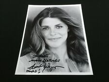 "LINDSEY WAGNER The Bionic Woman 8"" x 10"" Signed Photograph"