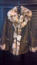 Winterjacke mit integrierter Übergangsjacke Pelz abnehmbar