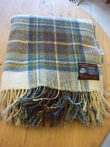 "The Edinburgh Woollen Mill - Tartan Blanket Throw 56"" x 48"""