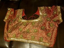 Beautiful bollywood bridal saree blouse ready to wear