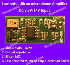 DC 5V-12V 6V Microphone Audio Amplifier Board MIC Voice Speaker Circuit Module