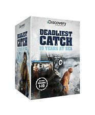 DEADLIEST CATCH - TEN YEARS AT SEA DVD BOXSET 46 DISC REGION 4 NEW & SEALED