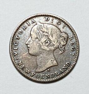 1872 - H CANADA/ NEWFOUNDLAND SILVER 10c KM3 - 177461S