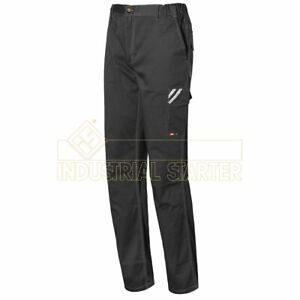 Issa Line Start pantalone da lavoro stretch grigio antracite e chiaro CE CAT I