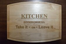 Custom Maple Cutting Board kitchen wedding mothers day anniversary gift