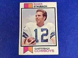 1973 Topps #475 Roger Staubach Dallas Cowboys