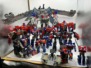 Transformers Movie Optimus Prime Leader Class Lot x4 Ultimate NEW
