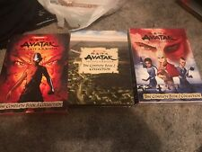 Avatar: The Last Airbender - Books 1-3 Complete Collections (DVD, Box Sets 1-3)