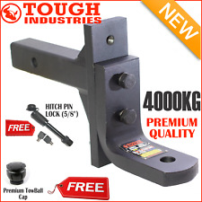 HEAVY DUTY 4000KG EXTREME ADJUSTABLE TOW BALL MOUNT-TOWBAR TONGUE HITCH GT 4TON