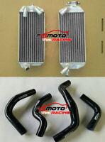 ALUMINUM RADIATOR + Black Hose for SUZUKI DRZ400E MODEL K2/K3/K4 2002-2007 06 05