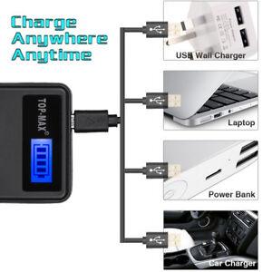Top Quality DMW-BLF19e USB Charger for DMC-GH3 DMC-GH4 Camera