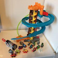 Thomas The Tank Engine Twist N Turn Stunt Play Set & Mini Train Lot