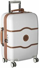 "$500 Delsey Chatelet Plus 21"" Hardside Carry On Spinner Travel Suitcase Luggage"