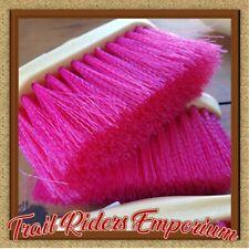 Dandy Brush - ROMA Brights HOT PINK horse dandy brush plastic