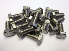 "5/16UNF X 1"" HEX HEAD SET BOLT A2 STAINLESS (QTY 10)"