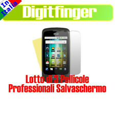 3 PEZZI PELLICOLA LCD SPECCHIO PER LG P500 OPTIMUS ONE