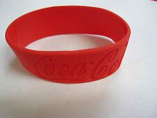 Coca-Cola Silicone Wrist Band Bracelet Lot of 5