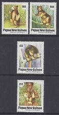 1994 PAPUA NEW GUINEA TREE KANGEROOS SET OF 4 FINE MINT MUH/MNH