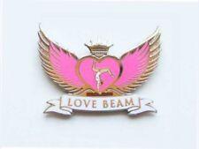 Love Beam Gymnastics Lapel Pin - Spectacular New Design